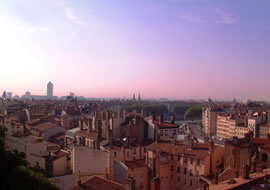 The city of Lyon